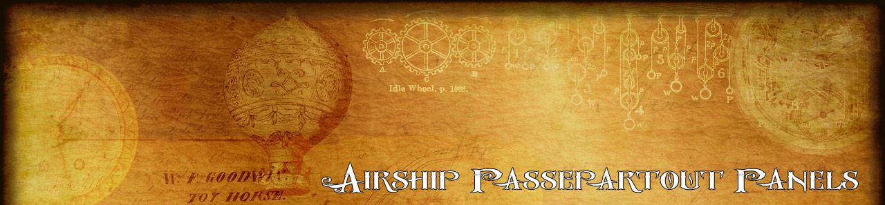 Airship Passepartout Panels