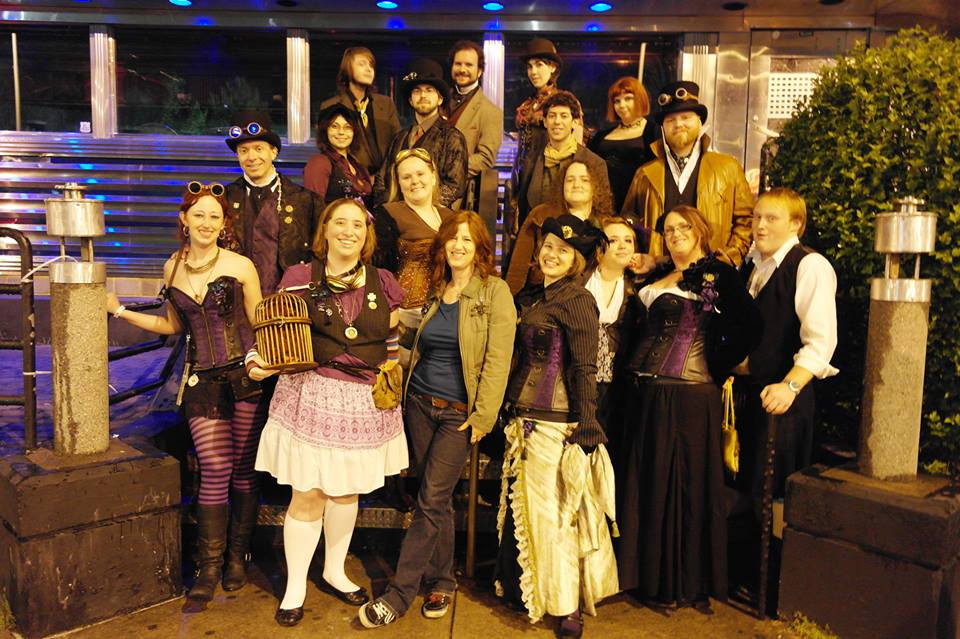 Airship Passepartout Urban Nights Steampunk Stroll Fall 2013