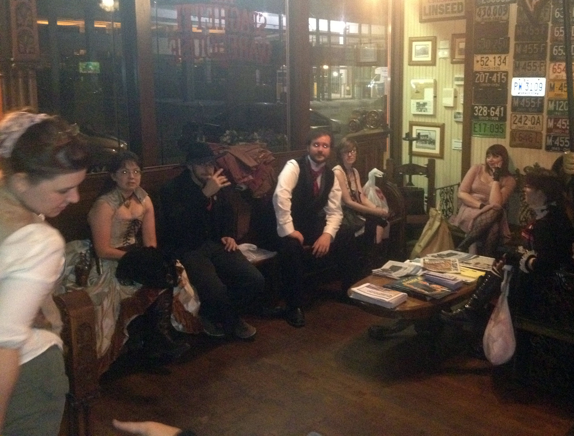 Airship Passepartout Bi-Monthly Steampunk Salon – September