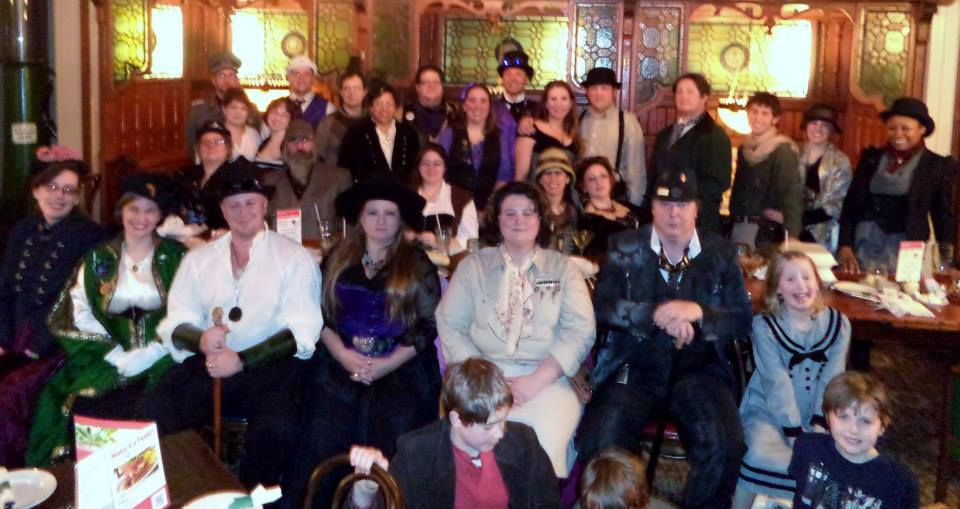 Airship Passepartout Bi-Monthly Steampunk Salon – 3/16/14