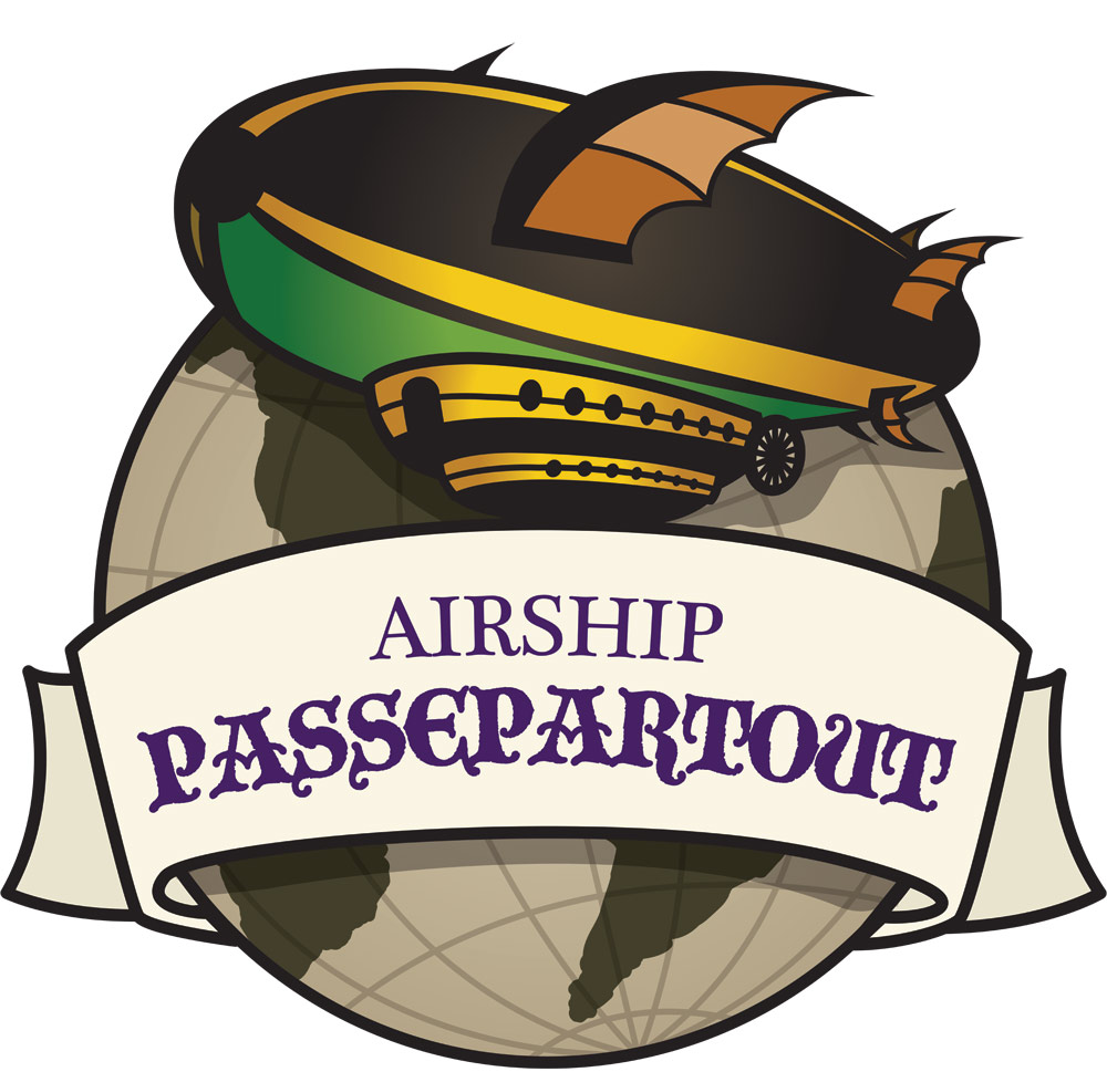 Airship Passepartout - Dayton, Ohio Steampunk